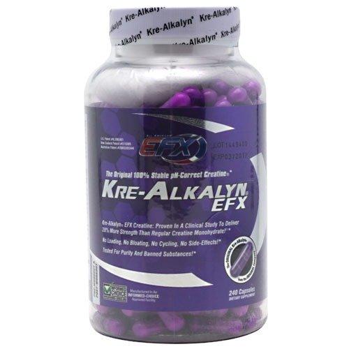 Kre-Alkalyn EFX Creatine Capsules, 240 count
