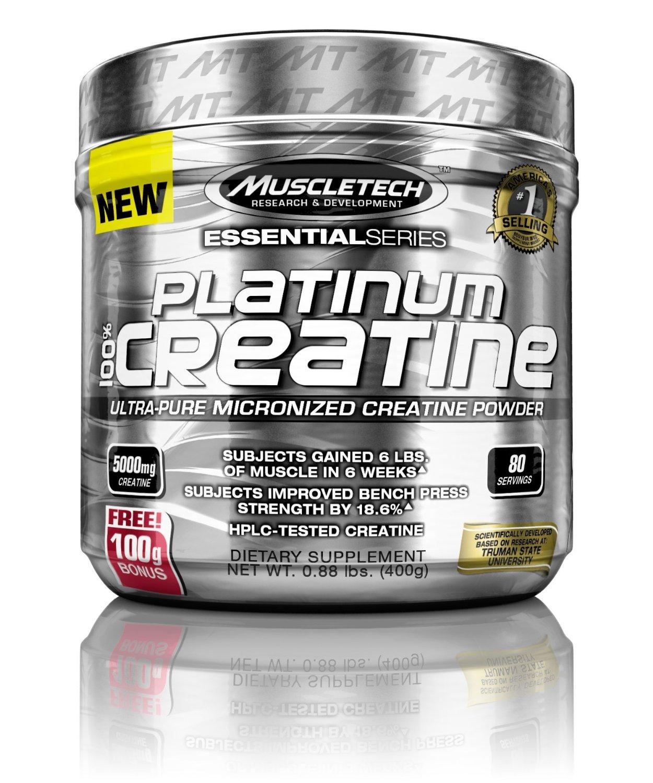 MuscleTech Platinum Creatine, 400 grams