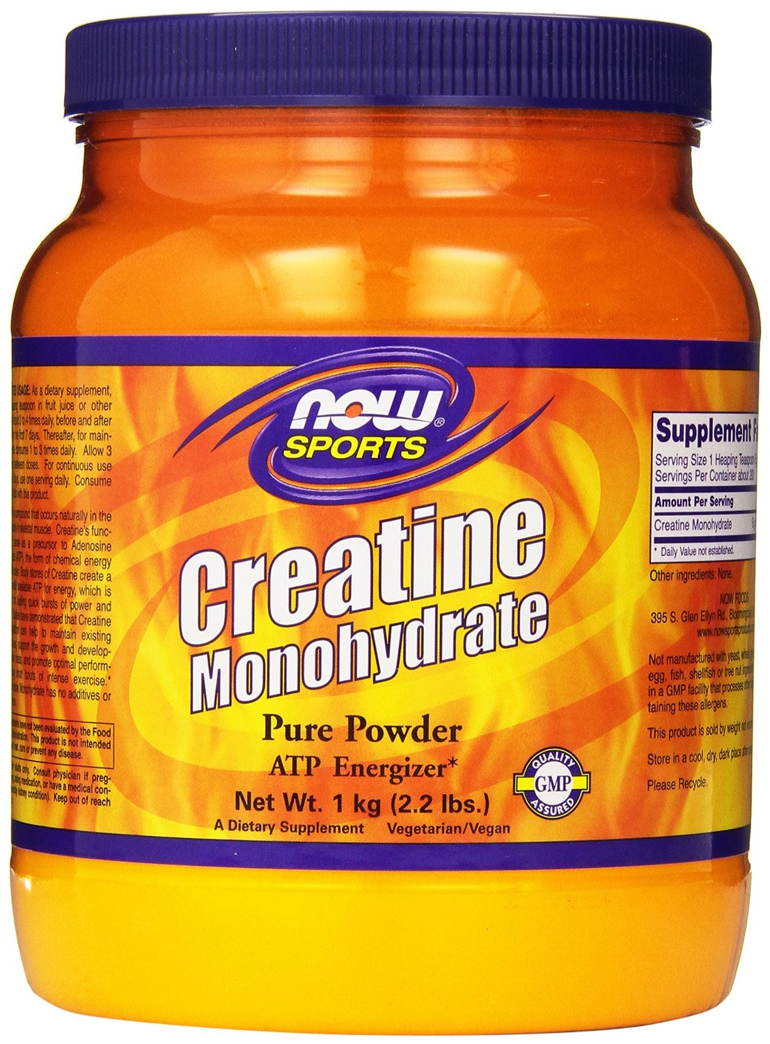 NOW Foods Creatine Powder, 1kg